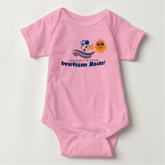 Girls Pink Support Baby Suit LPOTW Baby Bodysuit