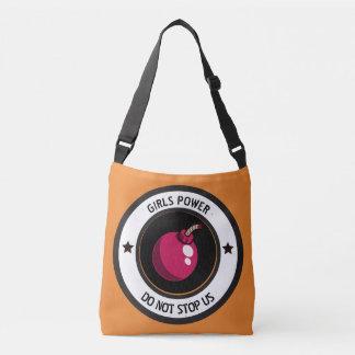 Girls power crossbody bag