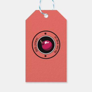 Girls power gift tags