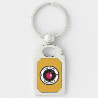 Girls power key ring