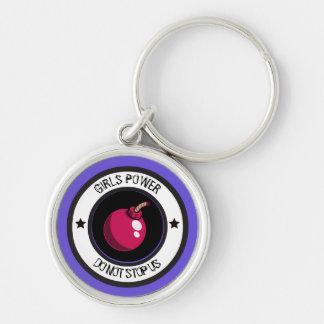 Girls power key ring