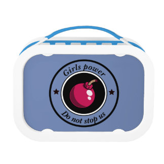 Girls power lunch box