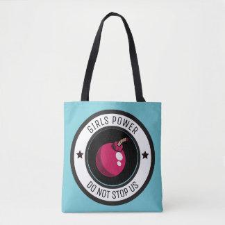 Girls power tote bag