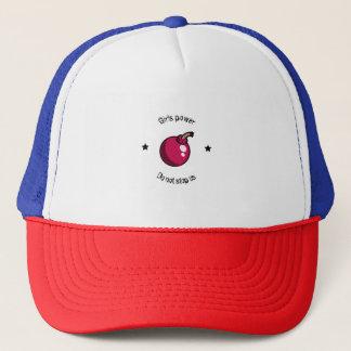 Girls power trucker hat