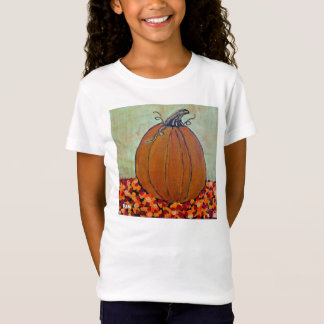 Girls' Pumpkin Tee Shirt