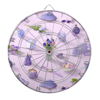 Girl's Purple Dream Dartboard