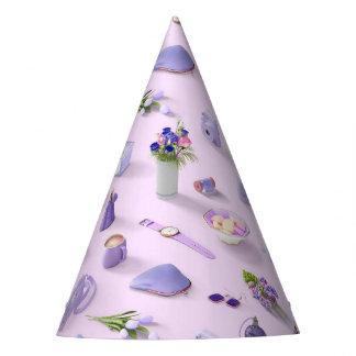 Girl's Purple Dream Party Hat
