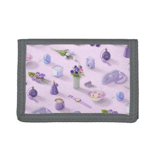 Girl's Purple Dream Tri-fold Wallet