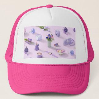 Girl's Purple Dream Trucker Hat