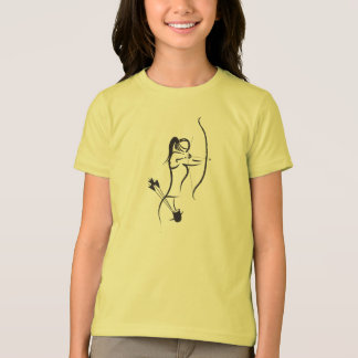 Girls Recurve Archer T-Shirt