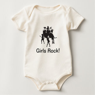 Girls Rock Baby Shirt