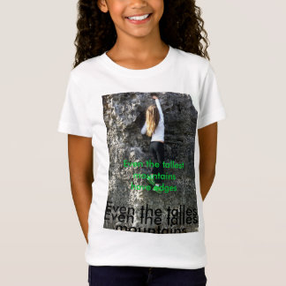 Girl's rock climbing t-shirt