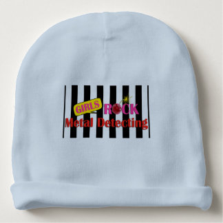 Girls Rock Metal Detecting Baby Boy Beanie Hat Baby Beanie
