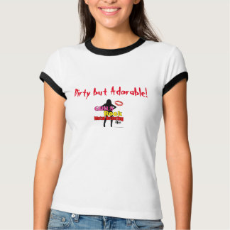 Girls Rock Metal Detecting Dirty But Adorable T T-Shirt