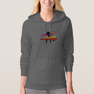 Girls Rock Metal Detecting Hoodie Womens