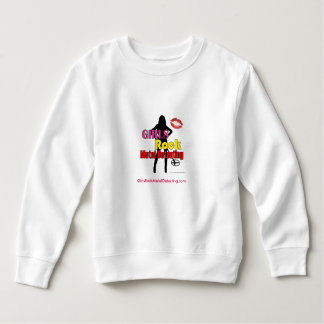 Girls Rock Metal Detecting Kids Sweatshirt