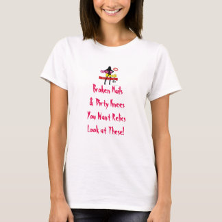 Girls Rock Metal Detecting Slogan T T-Shirt