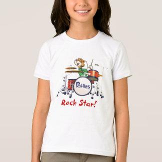 """Girls """"Rock Star"""" T-Shirt"""