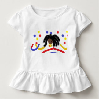 Girls Ruffled T-Shirt