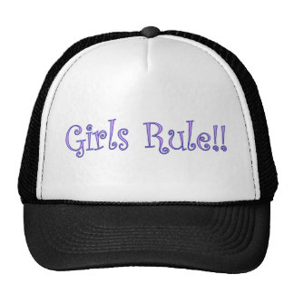 Girls Rule! Cap