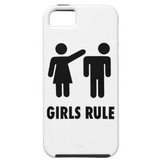 Girls Rule iPhone 5 Cases