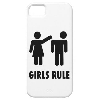 Girls Rule Barely There iPhone 5 Case