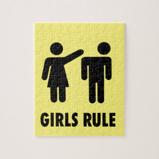 Girls rule jigsaw puzzle