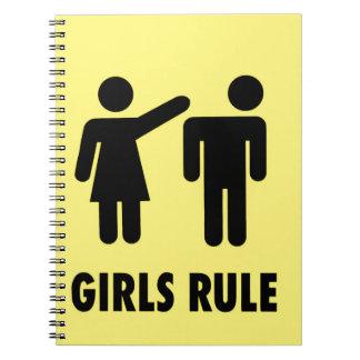 Girls rule notebooks