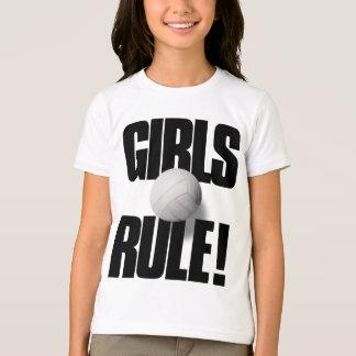 GIRLS RULE! Volleyball T-Shirt