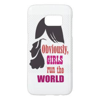 Girls run World Mobile Case
