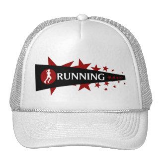Girls Running Star Cap