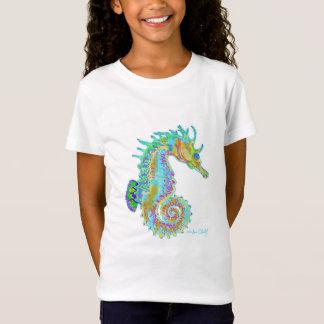 Girl's Seahorse Teeshirt T-Shirt