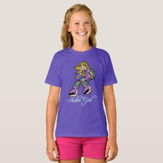 Girls skater theme t-shirt