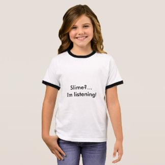 Girl's Slime Ringer T-Shirt