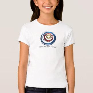 Girl's Small Tampa Archery School Logo Tee
