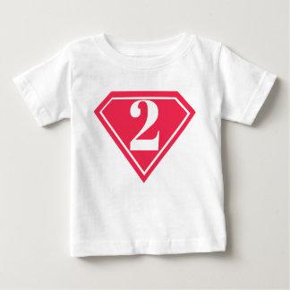 Girls Superhero 2nd Birthday Shirt