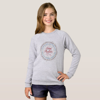 Girl's Sweatshirt - Jane Austen Period Dramas