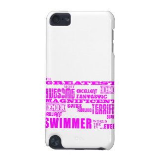 Girls Swimmers : Pink Greatest Swimmer iPod Touch 5G Case