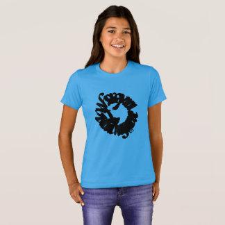 Girls t-shirt, cool, blue, prints, lion T-Shirt