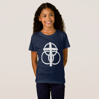 Girl's T-shirt: Modern Logo T-Shirt