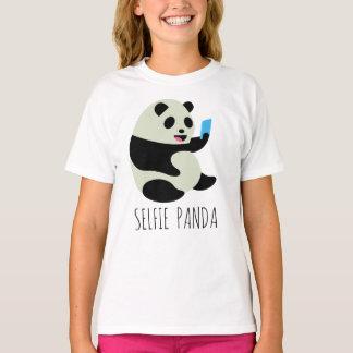 """Girl's T-Shirt: """"Selfie Panda"""" T-Shirt"""