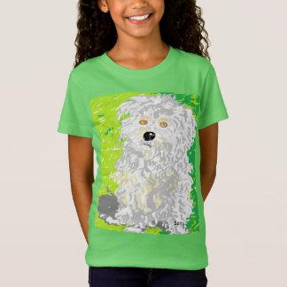 Girls T-Shirt  Shaggy Dog