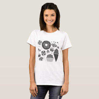 Girls t-shirt with Sweet donuts