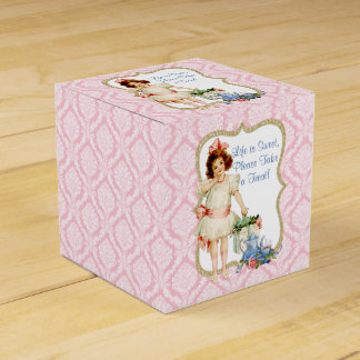 Girls Tea Party Favour Box