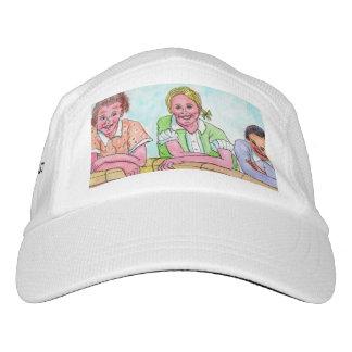 Girls Teasing Boys On The Stoop Cap