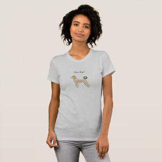 Girls Tee shirt dogs custom