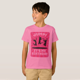 Girl's Trampoline Bounce House Birthday Party T-Shirt