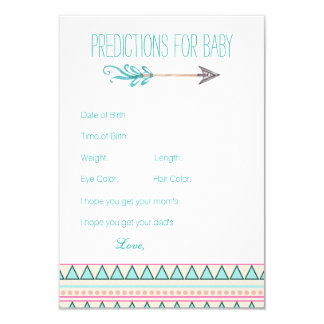 Girls Tribal Arrow Predictions Advice Cards