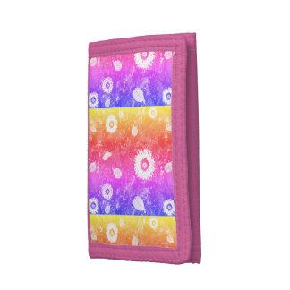Girls Trifold Nylon Wallet