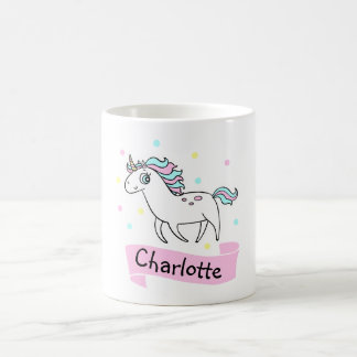 Girls Unicorn Personalized Mug